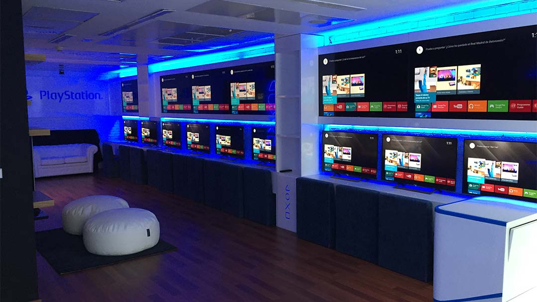 Playroom en las oficinas de PlayStation