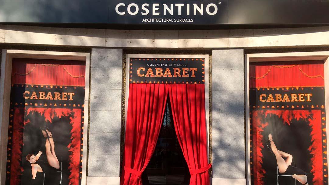 Entrada de Cosentino Cabaret