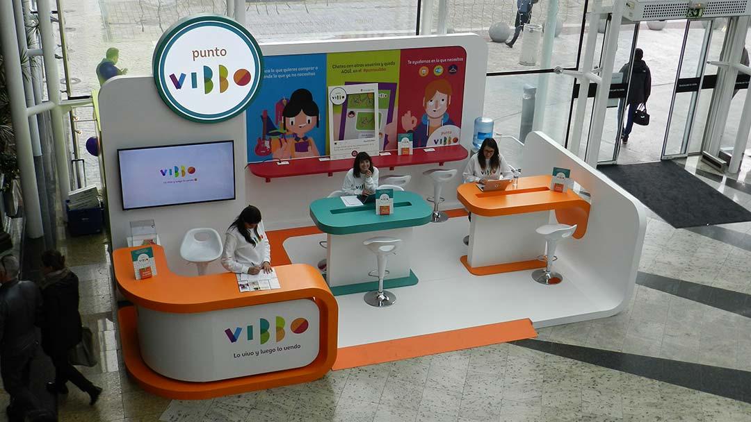 Pop Up Store de Vibbo en Madrid