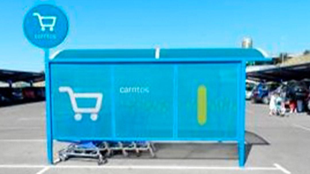 Carros de la compra en Carrefour