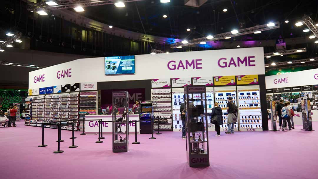 stand Game feria videojuegos