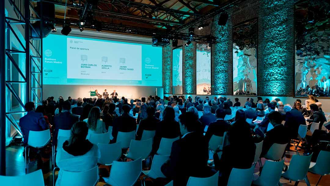 Swift Business Forum en la Real Fábrica de Tapices de Madrid