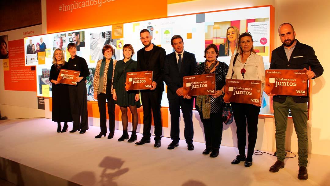 Ganadores de Implicados y Solidarios de Bankinter